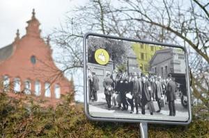 Geschichtsparcours General-Pape-Straße